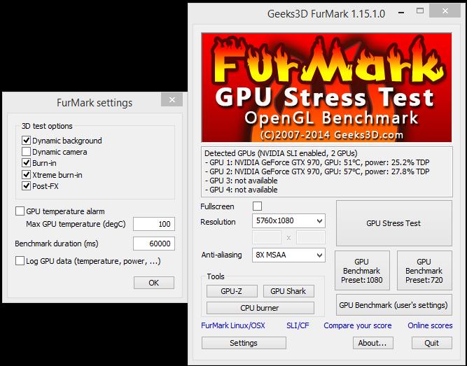 Intermittent NVidia 970 SLI Crashes Post-FX Full System Reset